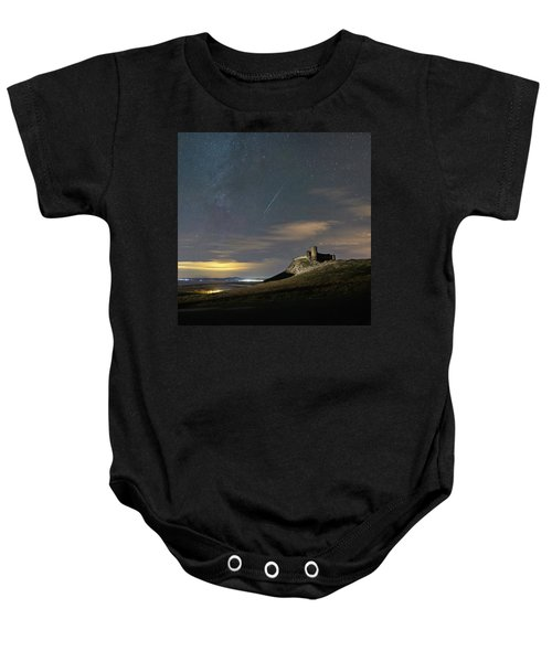 Meteors Above The Fortress Baby Onesie