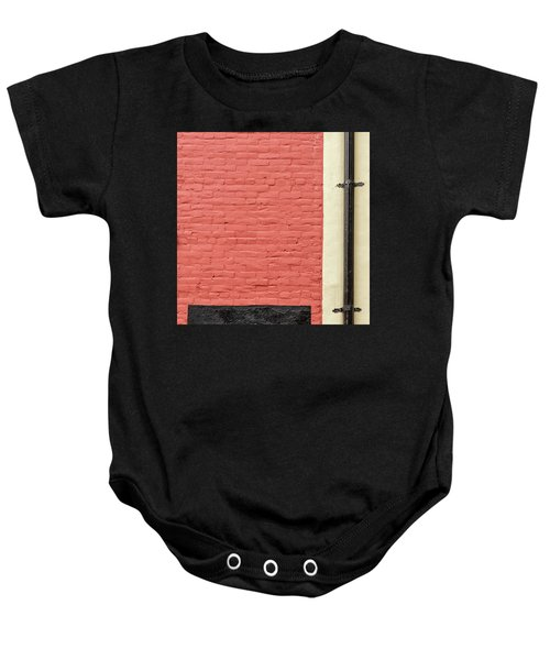 Baby Onesie featuring the photograph Mews Spout by Eric Lake