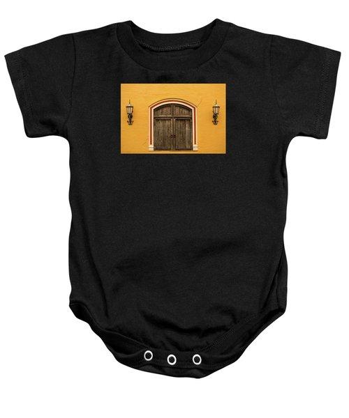 Mexican Door Baby Onesie