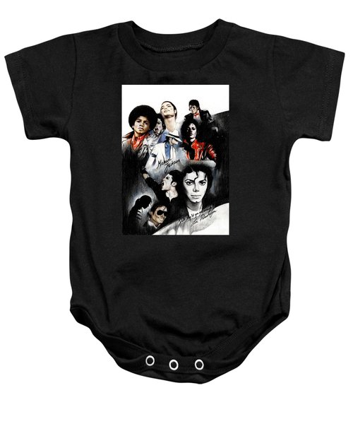 Michael Jackson - King Of Pop Baby Onesie