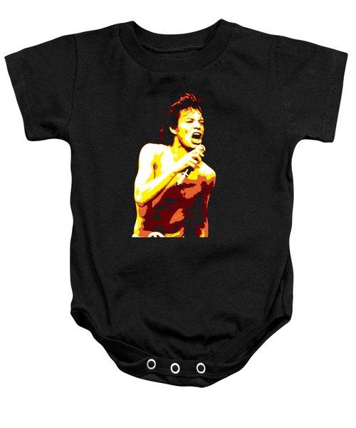 Mick Jagger Baby Onesie