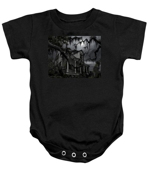 Midnight In The House Baby Onesie