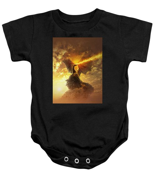 Mighty Dragon Baby Onesie