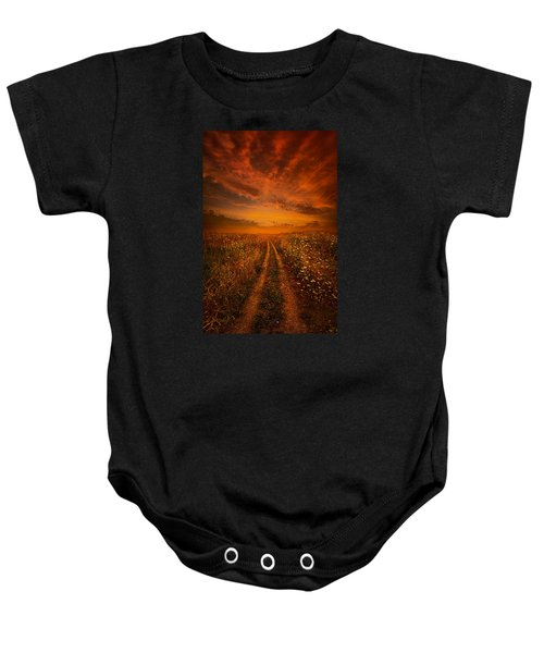 Miles And Miles Away Baby Onesie