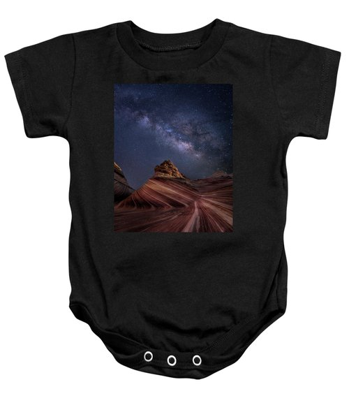 Milky Way And The Wave Baby Onesie
