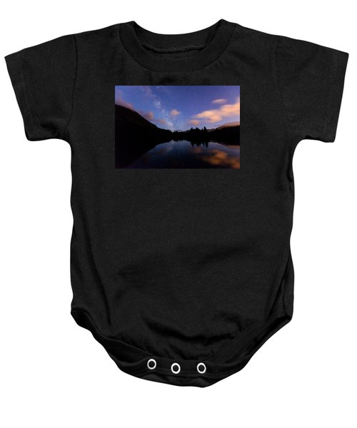 Milky Way At Snoqualmie Pass Baby Onesie