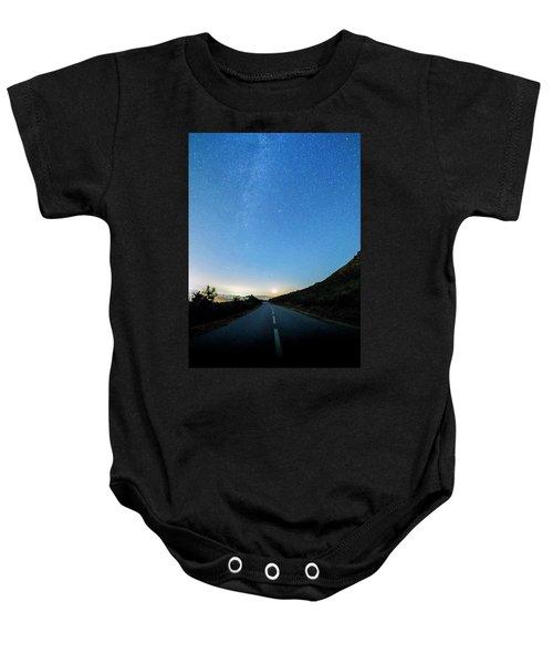 Milky Way Geres 4 Baby Onesie