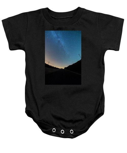 Milky Way Geres 5 Baby Onesie