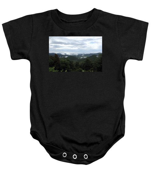 Mills River Valley View Baby Onesie