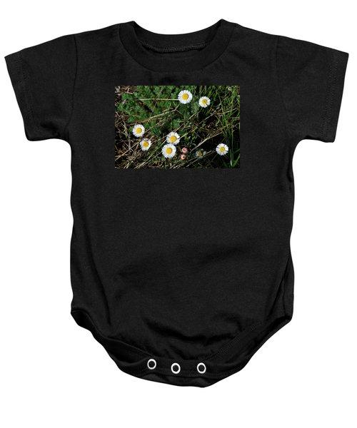 Mini Daisies Baby Onesie