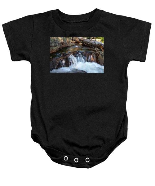 Mini-fall At Eagle Falls Baby Onesie