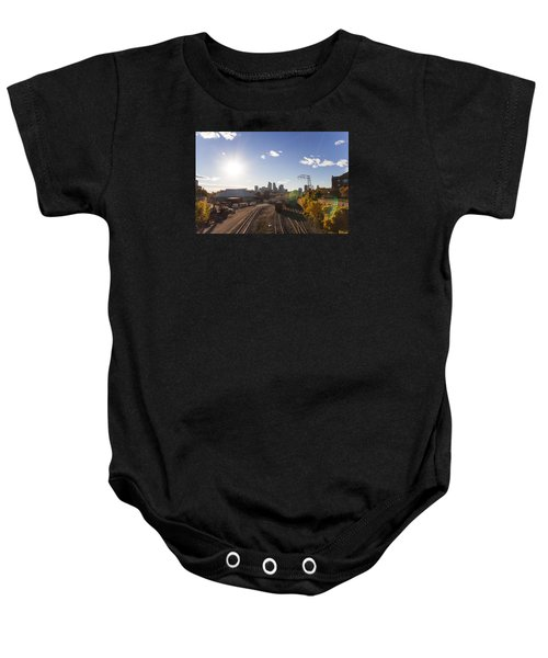 Minneapolis In The Fall Baby Onesie