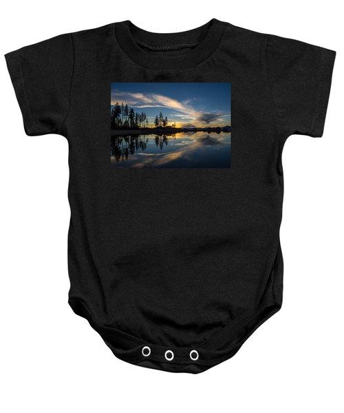 Mirror Sunset Baby Onesie