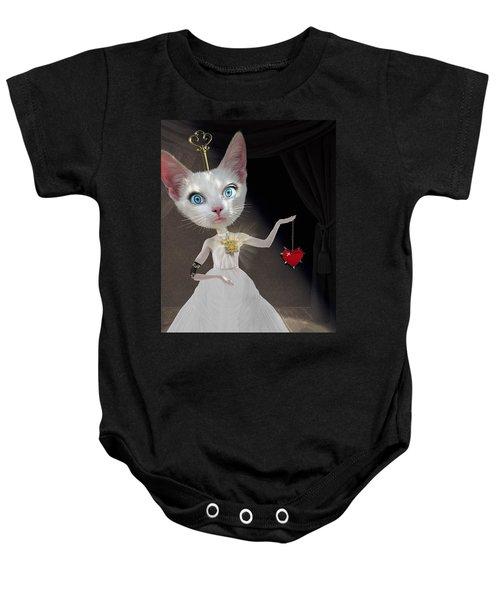 Miss Kitty Baby Onesie