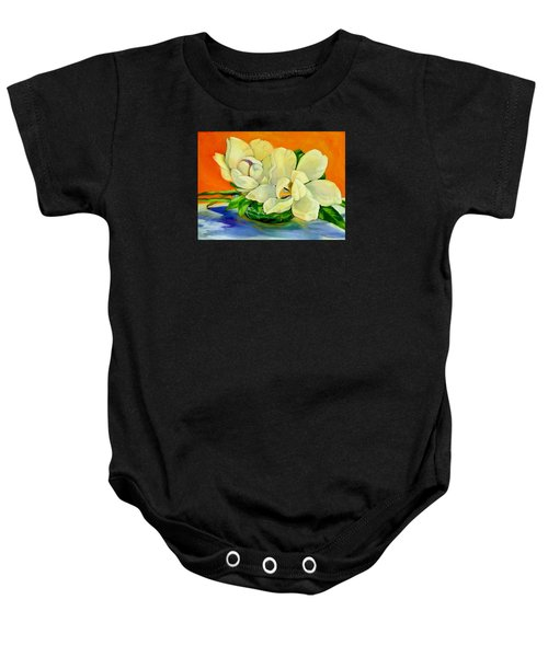 Mississippi Magnolias Baby Onesie