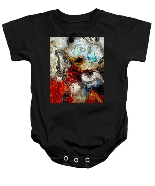Mixed Emotions Baby Onesie