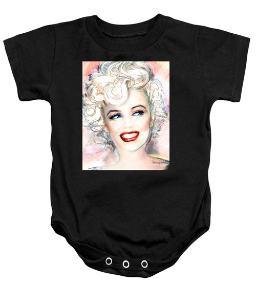 Mmother Of Pearl P Baby Onesie