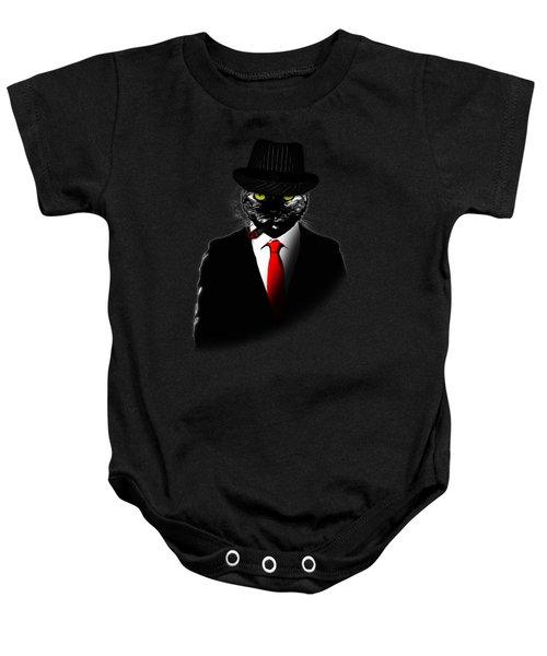 Mobster Cat Baby Onesie