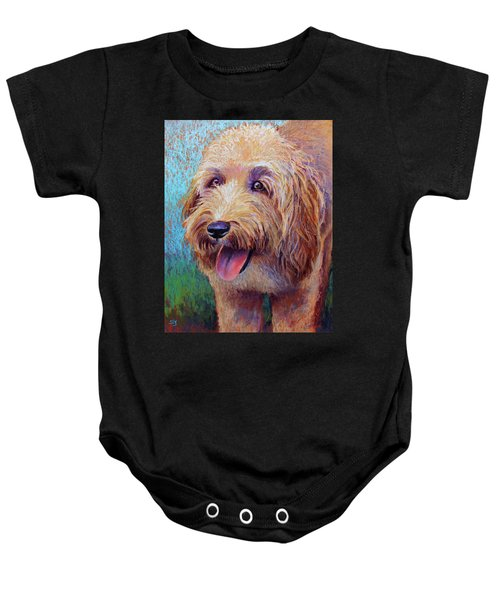 Mojo The Shaggy Dog Baby Onesie