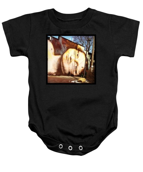 Mona's Facial Expression Baby Onesie