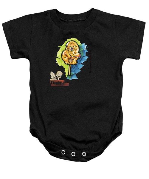 Monkey Horoscope Baby Onesie
