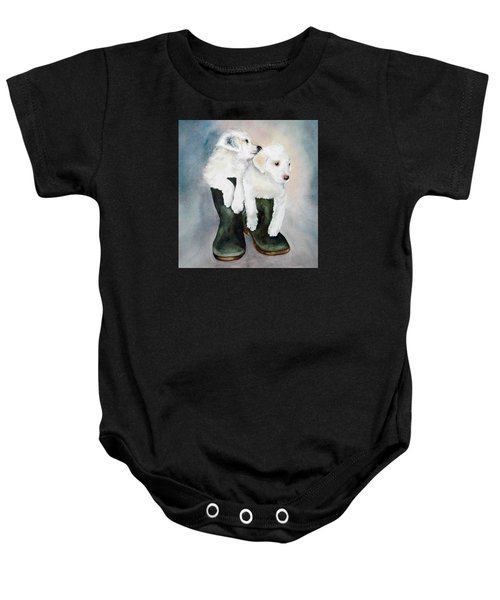 Monti And Gemma Baby Onesie