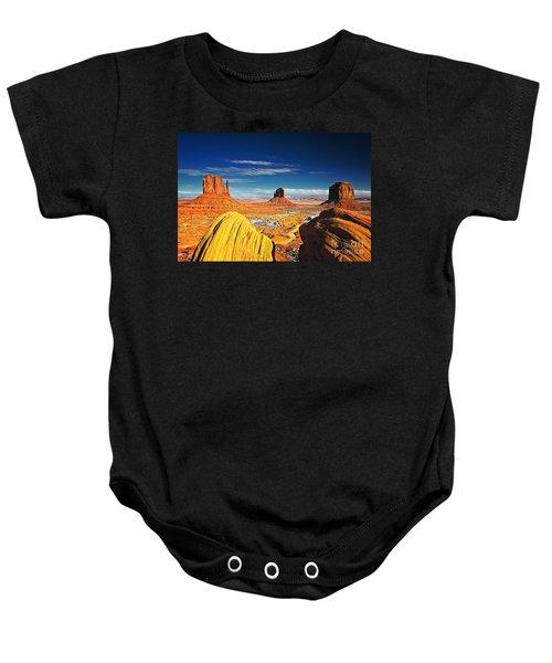 Monument Valley Mittens Utah Usa Baby Onesie