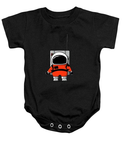 Moon Man Baby Onesie by Nicholas Ely