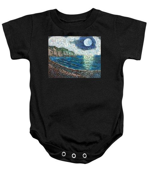 Moonlight In Pourvill Baby Onesie