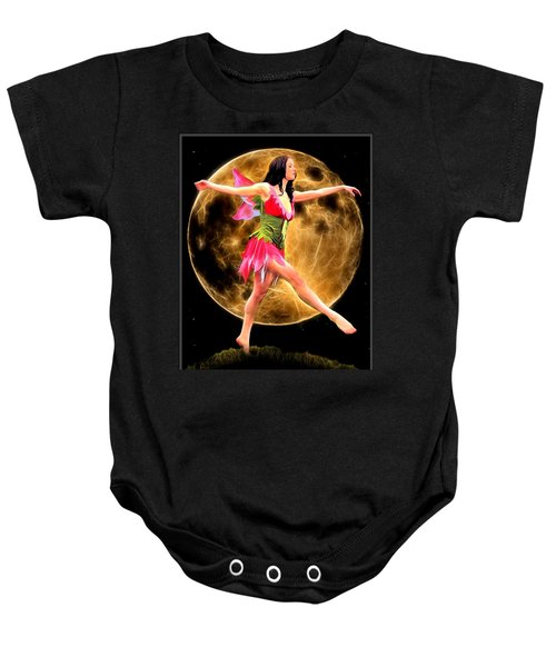 Moonlight Stroll Of A Fairy Baby Onesie