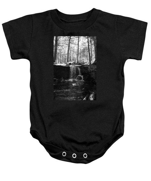 Moonlight Waterfall Baby Onesie