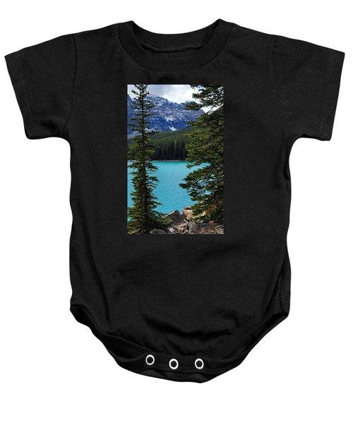 Moraine Lake 3 Baby Onesie
