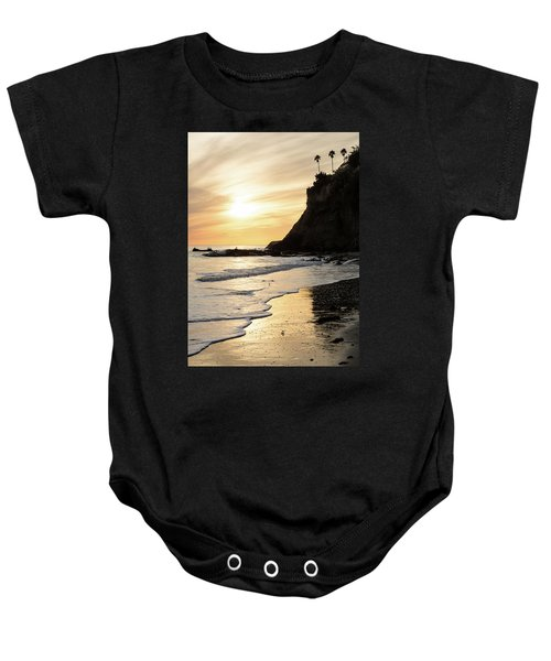 More Mesa Sunset West Baby Onesie