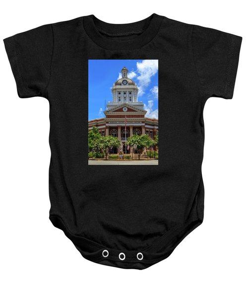 Morgan County Court House Baby Onesie