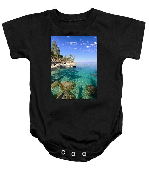 Morning Glory At The Cove Baby Onesie