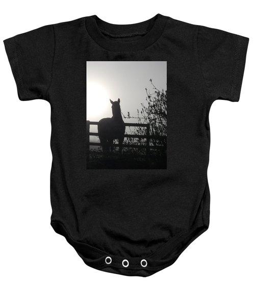 Morning Silhouette #1 Baby Onesie