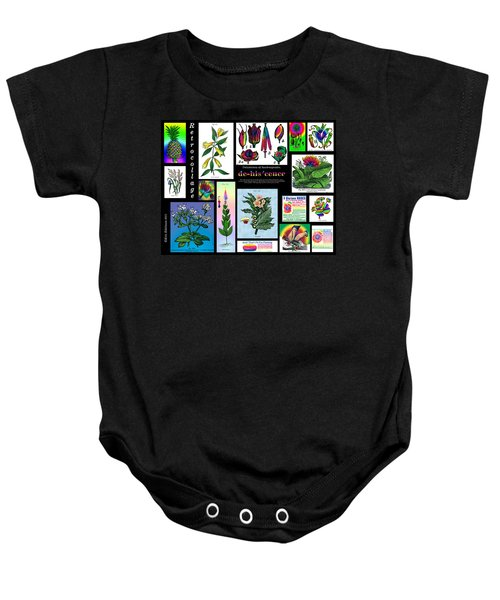 Mosaic Of Retrocollage II Baby Onesie