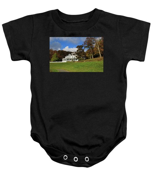 Moses Cone Flat Top Manor Baby Onesie