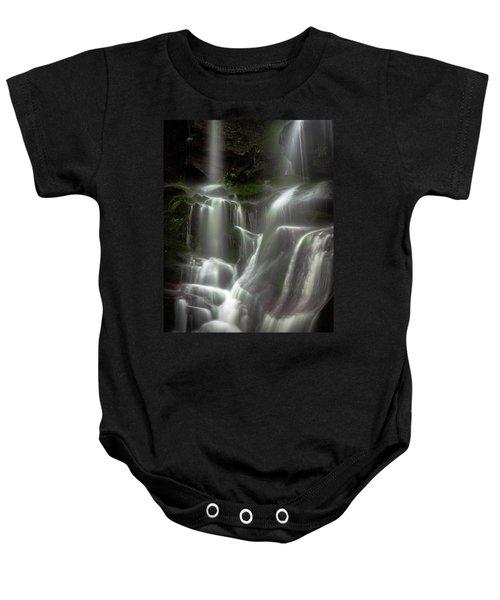 Mossy Waterfall Baby Onesie