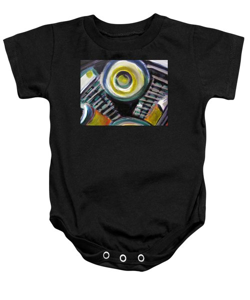 Motorcycle Abstract Engine 2 Baby Onesie