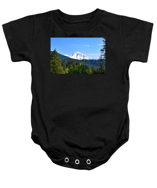 Mount Shasta Baby Onesie