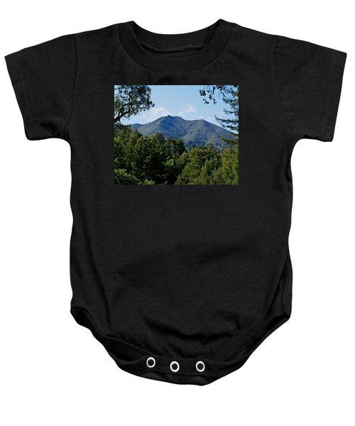 Mount Tamalpais Baby Onesie
