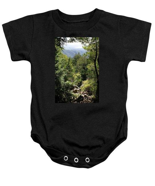 Mount Tamalpais Forest View Baby Onesie
