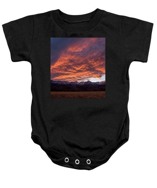 Mount Whitney Baby Onesie