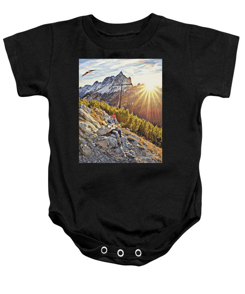 Mountain Of The Lord Baby Onesie