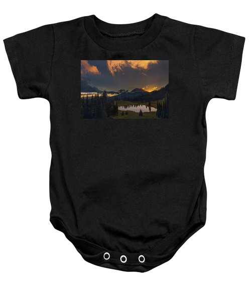 Mountain Show Baby Onesie