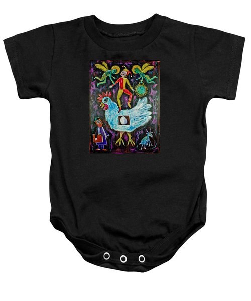 Moving On Baby Onesie