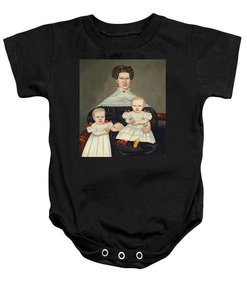 Mrs Paul Smith Palmer And Her Twins Baby Onesie