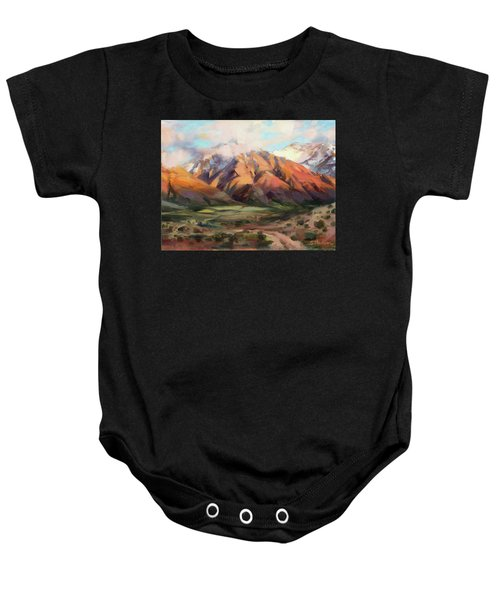 Mt Nebo Range Baby Onesie