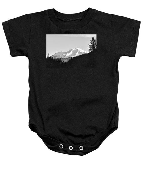 Mt Shasta Baby Onesie